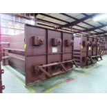 (4) DAMPERS, LARGEST WEIGHING 14,000 LB. EACH, 232'' X 120'' X 90'', SMALLER ONES 1,625 LB.