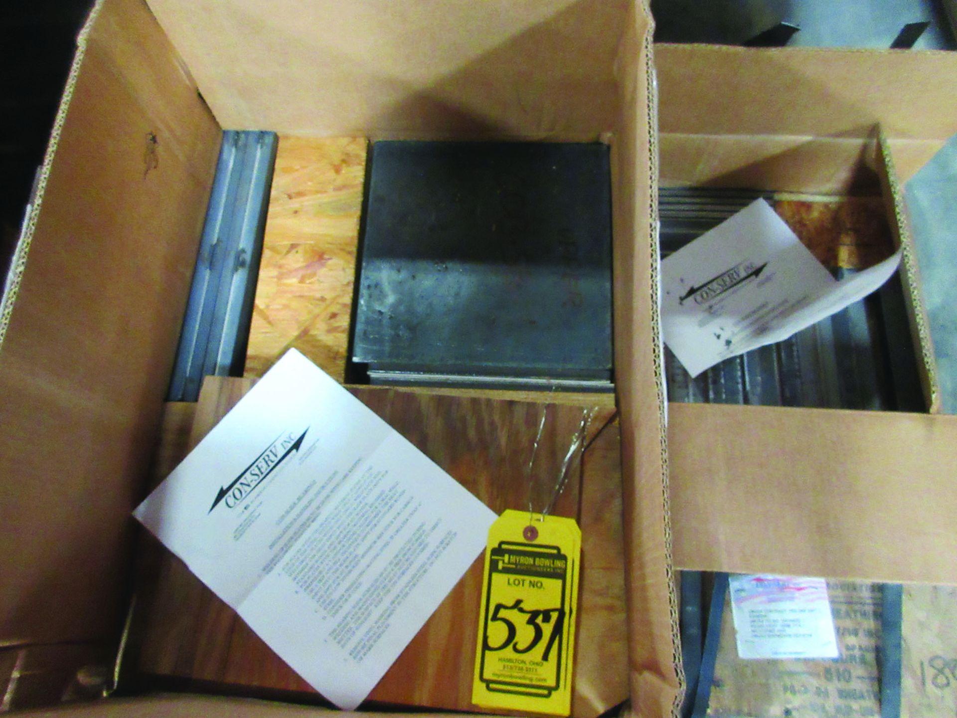 (8) NITROGEN FILLED RADIATORS, 5,000 LB EACH, DIMENSIONS 200'' X 80'' X 26'', (5) EXPANSION - Image 5 of 7