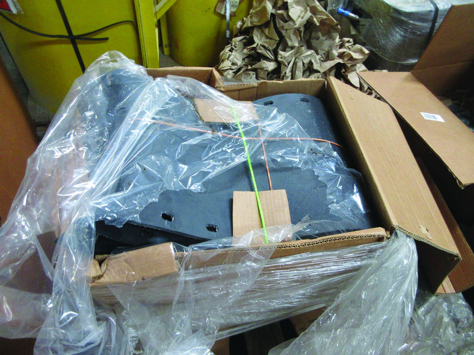 LOT OF ASSORTED PARTS: BARSETS, SHAFT COUPLINGS, COUPLING GUARDS, AND MORE, GRID A7 - Image 9 of 16