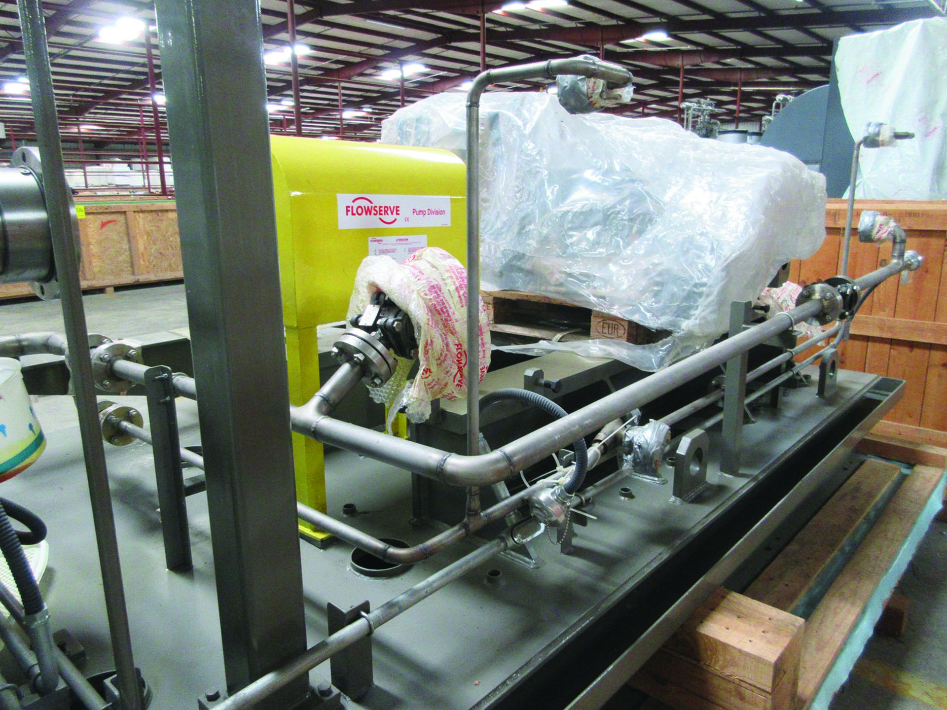 PUMP SLED: BARREL START-UP BOILER FEED PUMP, SIZE: 4X12CSB-12, 1,200 GPM, 3,580 RPM, 12 GPM LUBE OIL - Image 6 of 11