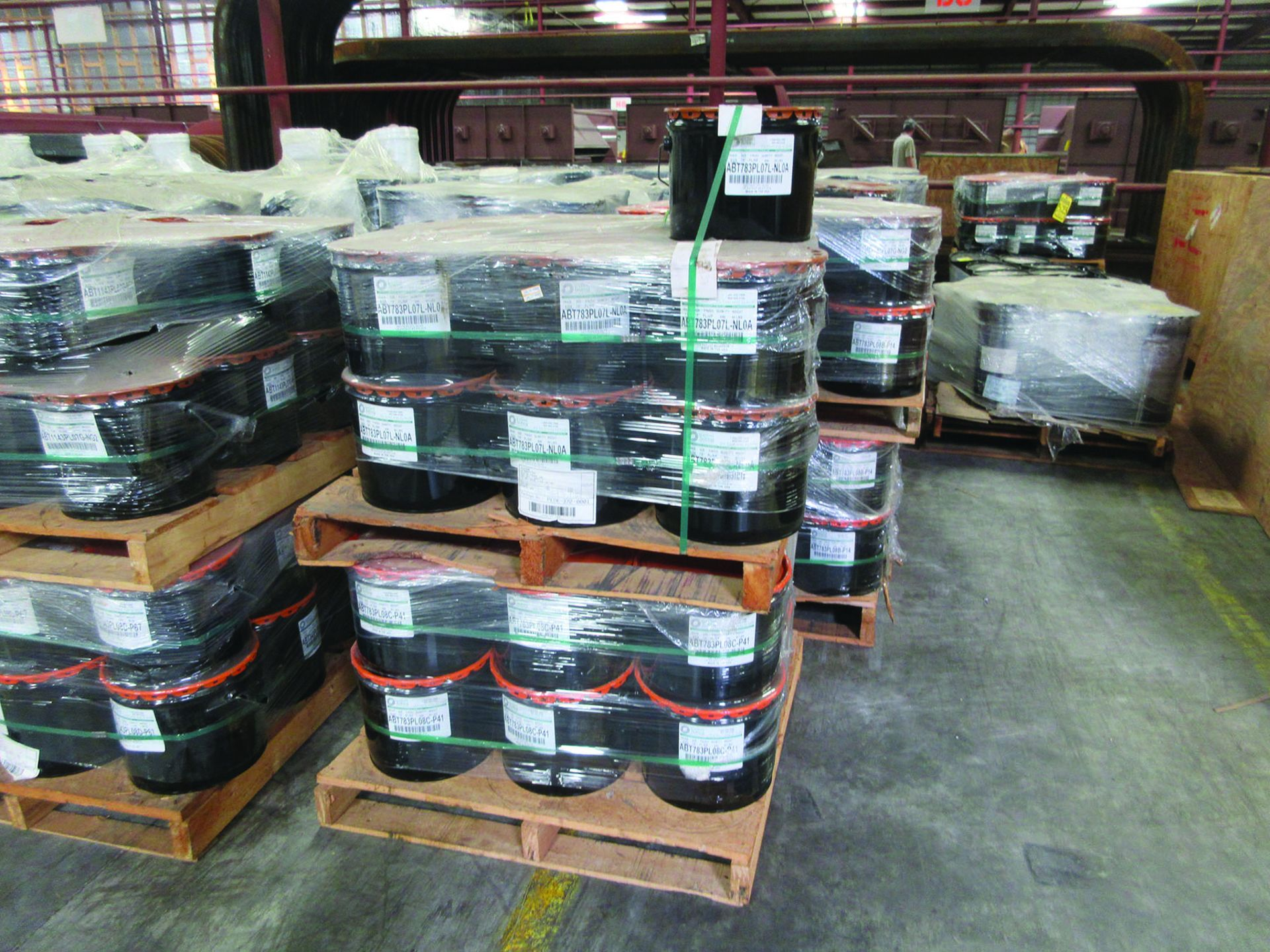 (72 +/-) PALLETS OF STRUCTURAL SCREWS, WASHERS, NUTS, GRID B8 - Image 3 of 3