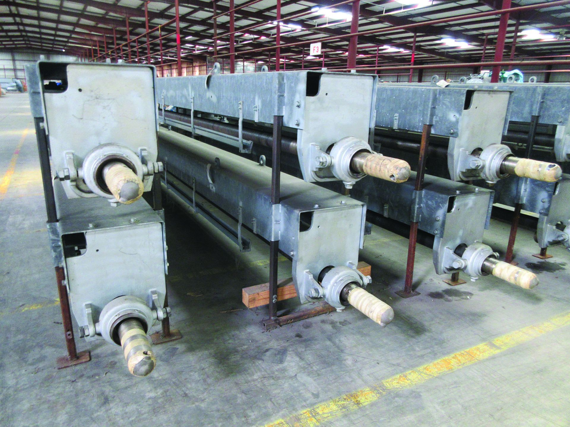 (6) CLYDE BERGEMANN SOOT BLOWERS, 3,579 LB. EACH, DIMENSIONS: 424'' X 30'' X 24'', GRID F3 - Image 3 of 3