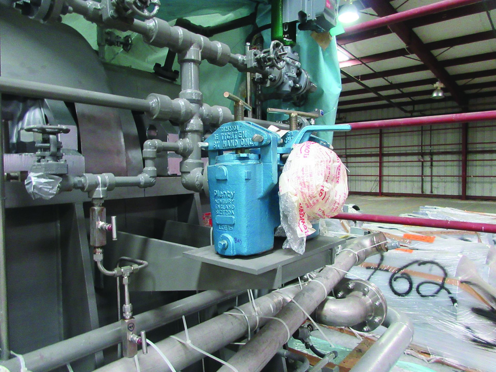 2008 FLOWSERVE BOILER FEED WATER PUMP, SIZE 80-CHTA-6, 5,500 RPM, CAP. 5,440 GPM, MAWT 375° F, MAWP: - Image 5 of 7