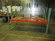 PALLET RACK AND CANTILEVER RACK: (70+/-) 4'' X 92'' CROSSBEAMS, (17) 48'' X 70'' UPRIGHTS, (12)