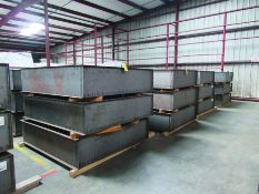 (36) STEEL BOX 78'' X 72'' X 18'', 2,095 LBS. EACH, GRIDS C8
