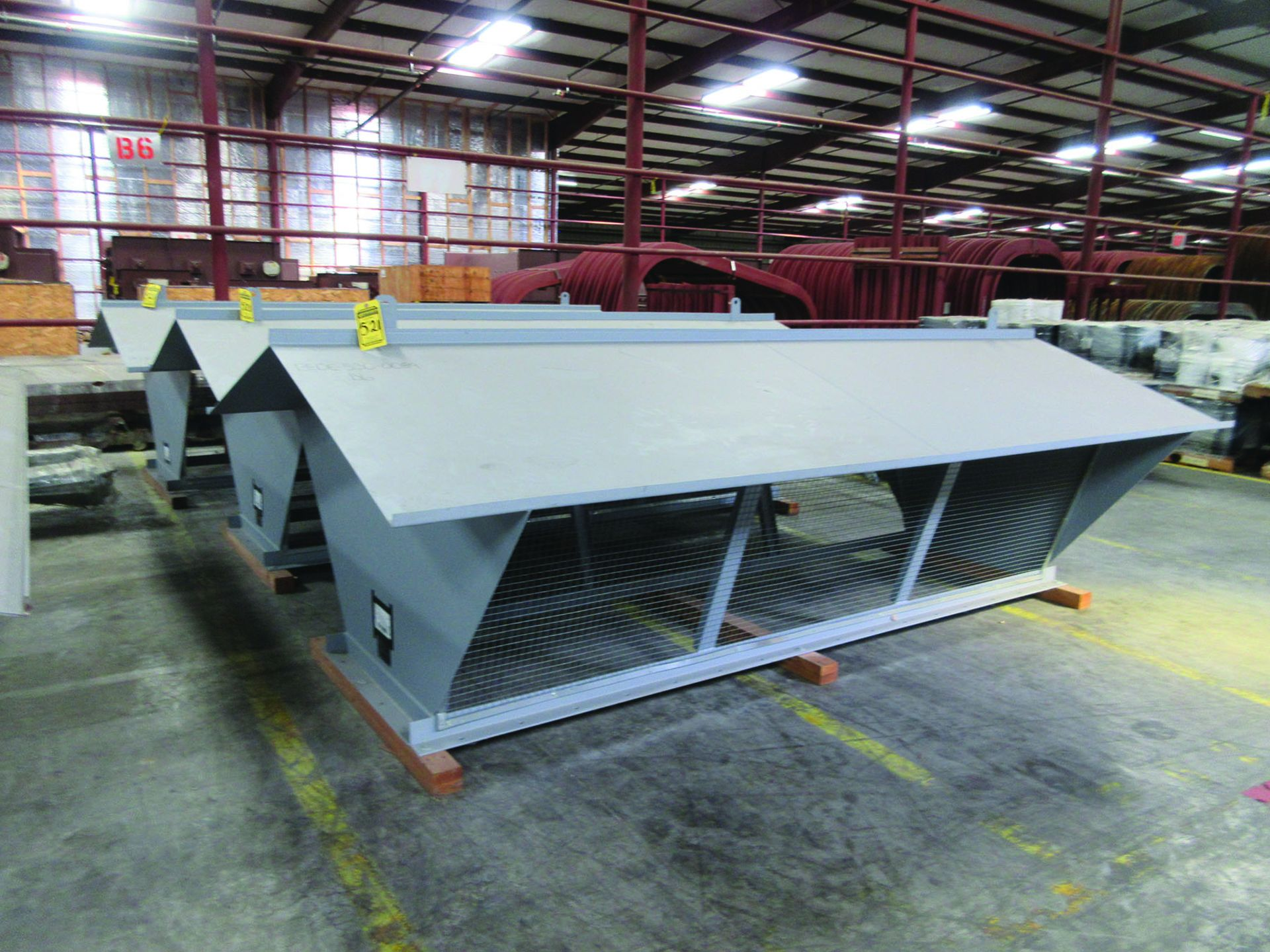 (4) FANS, MODEL 33VR1B-54, WEIGHTS: 4,122 LB. EACH, DIMENSIONS: 132'' X 45'' X 79'', ALSO RODS, - Image 3 of 10