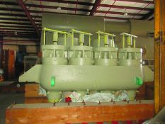 TURBINE SECTIONS, SOME WEIGHTS 89,700 LB., 84,800 LB., 44,050 LB