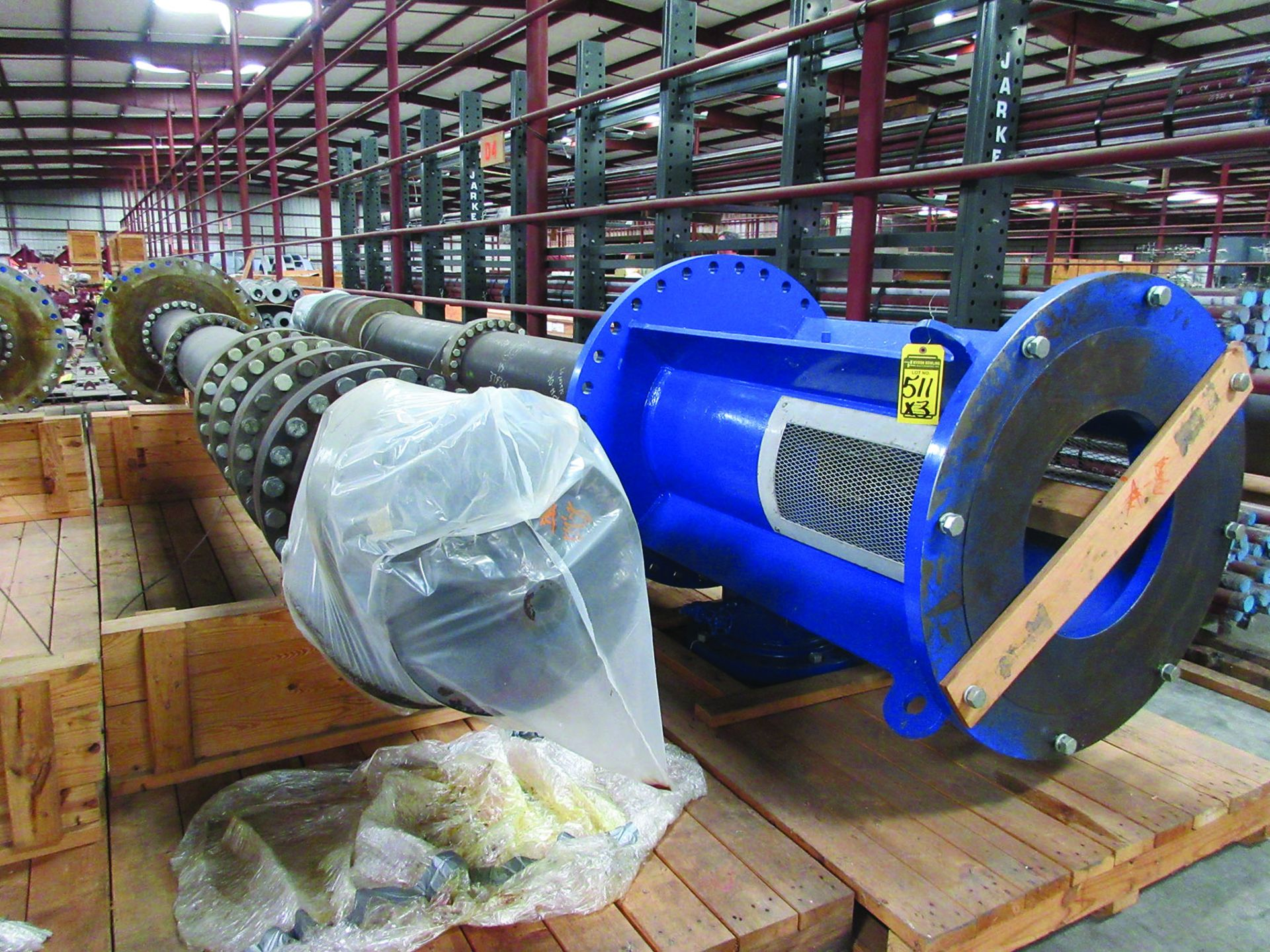 (3) 2008 RUHRPUMPEN 26DX24LQ 4-STAGE PUMPS, 3610 GMP, HYD. PRESSURE 75 PSI - 915 PSI, MAWP 50 - - Image 4 of 5