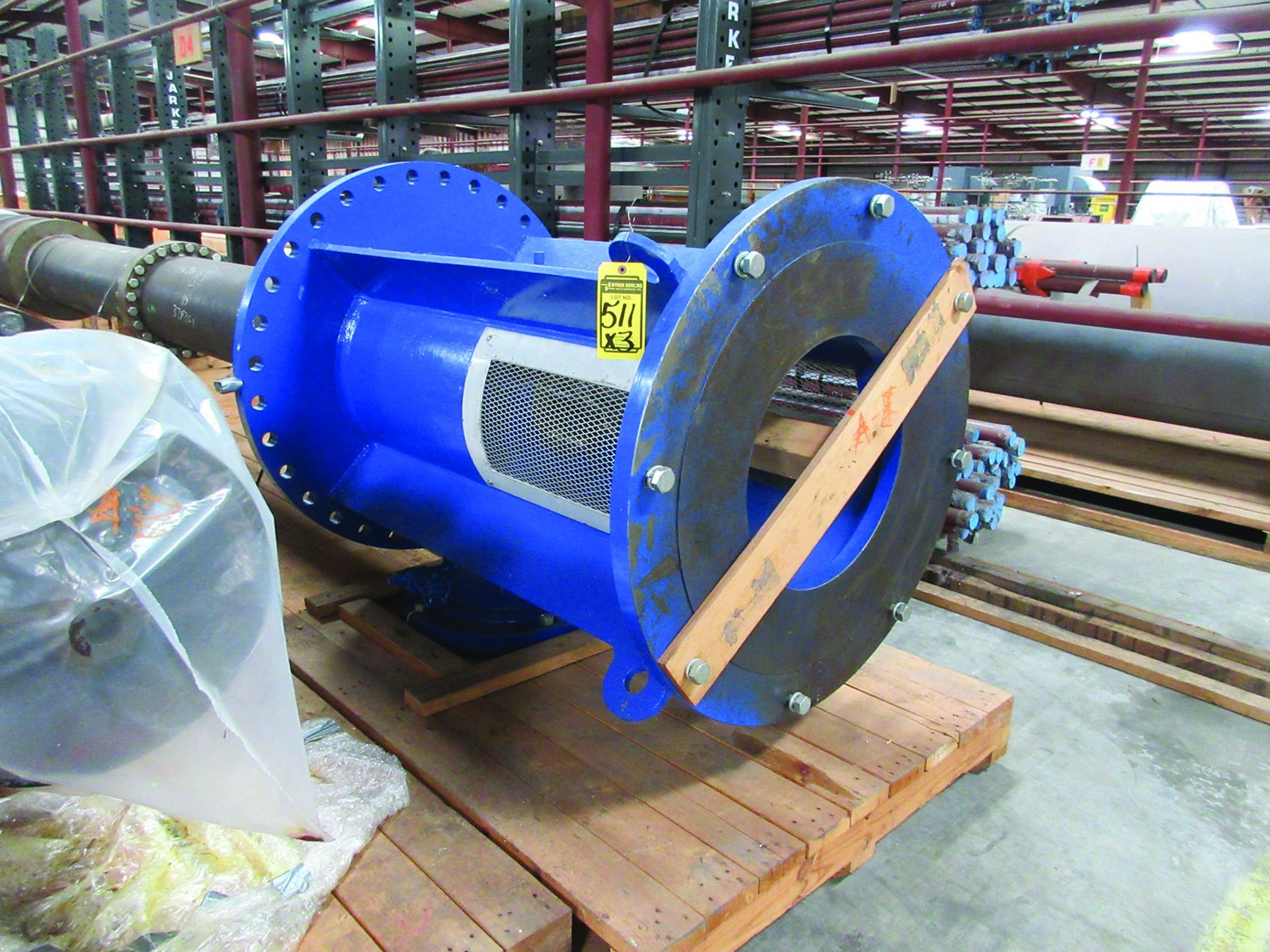(3) 2008 RUHRPUMPEN 26DX24LQ 4-STAGE PUMPS, 3610 GMP, HYD. PRESSURE 75 PSI - 915 PSI, MAWP 50 - - Image 5 of 5