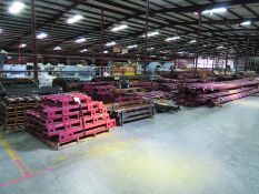 STRUCTURAL STEEL: RODS, BRACING, CRADLES, BRACKETS, GRID D6