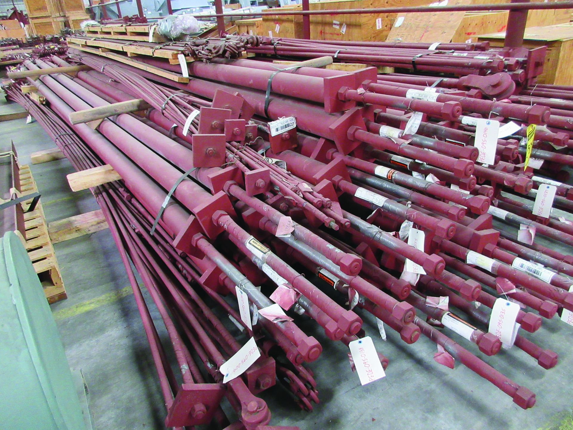 STRUCTURAL STEEL & SPRING CANS: RODS, I-BEAMS, GRID D5 - Image 6 of 12