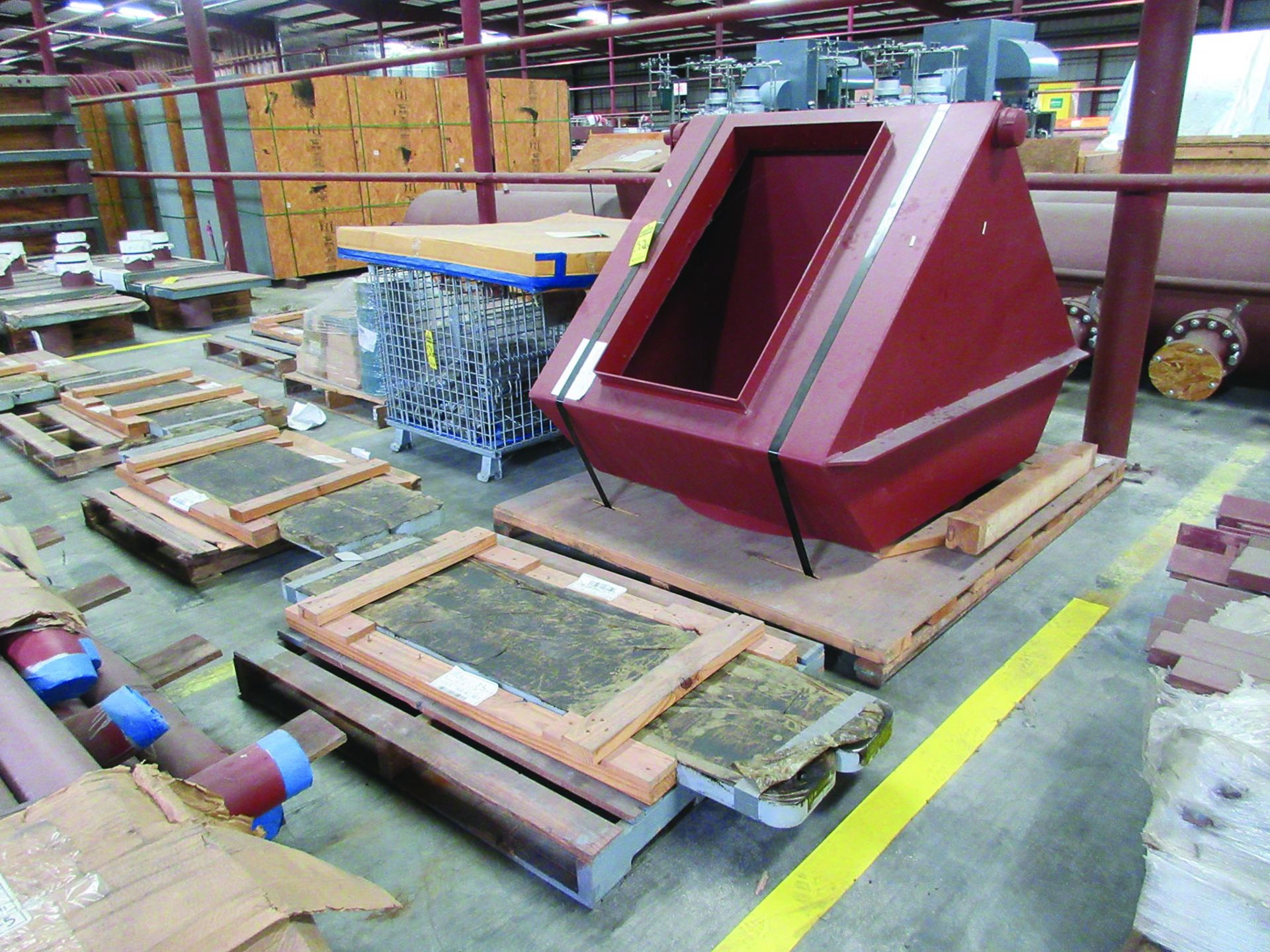 (6) SOLE PLATES, 6,685 LBS. EACH, OTHER ASSORTED SOLE PLATES, 4'' ASSORTED BUNDLE OF PIPE, ANGLE - Image 8 of 14
