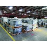 (80 +/-) PALLETS OF STRUCTURAL SCREWS, WASHERS, NUTS, GRID B7