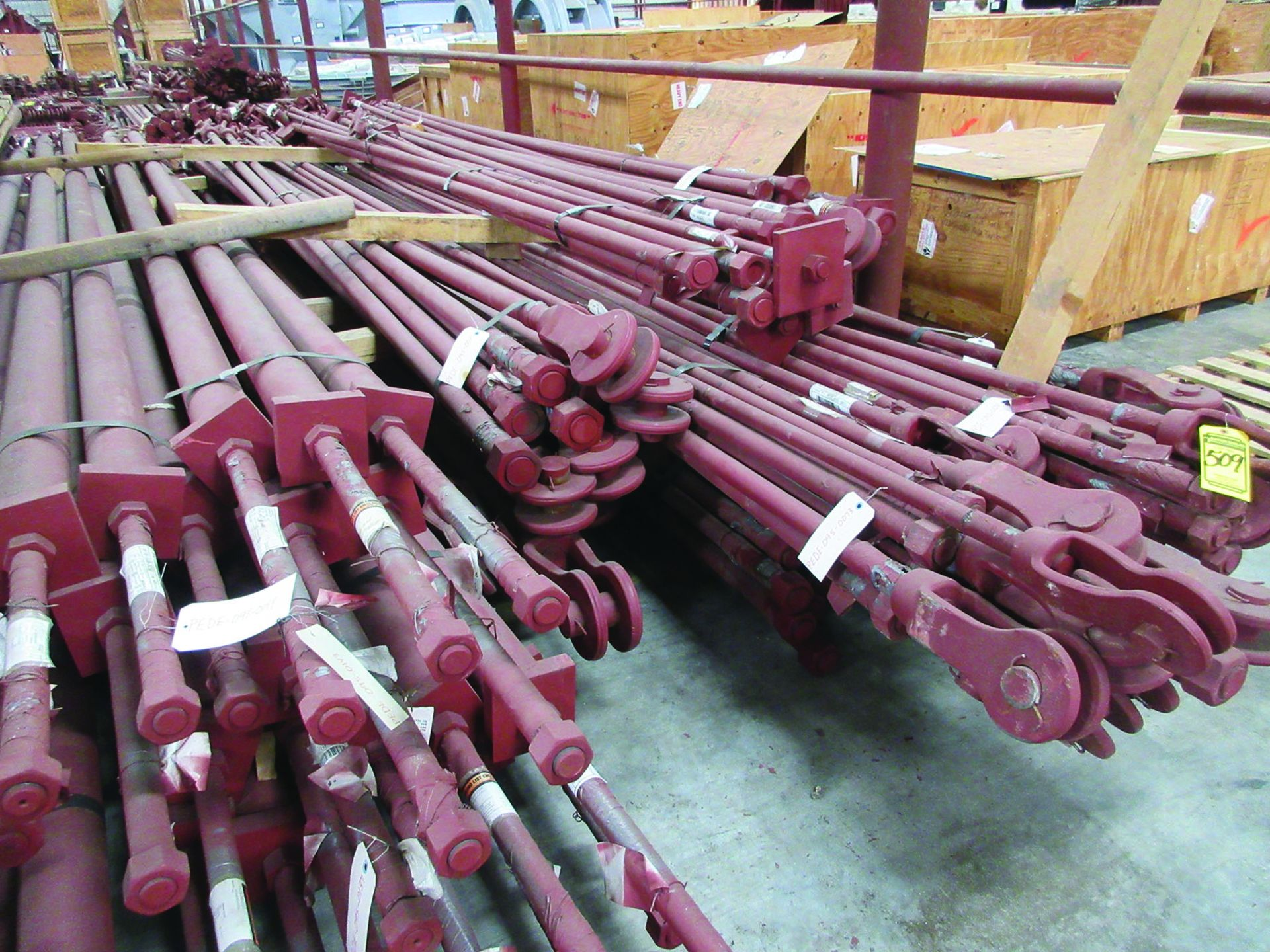 STRUCTURAL STEEL & SPRING CANS: RODS, I-BEAMS, GRID D5 - Image 7 of 12