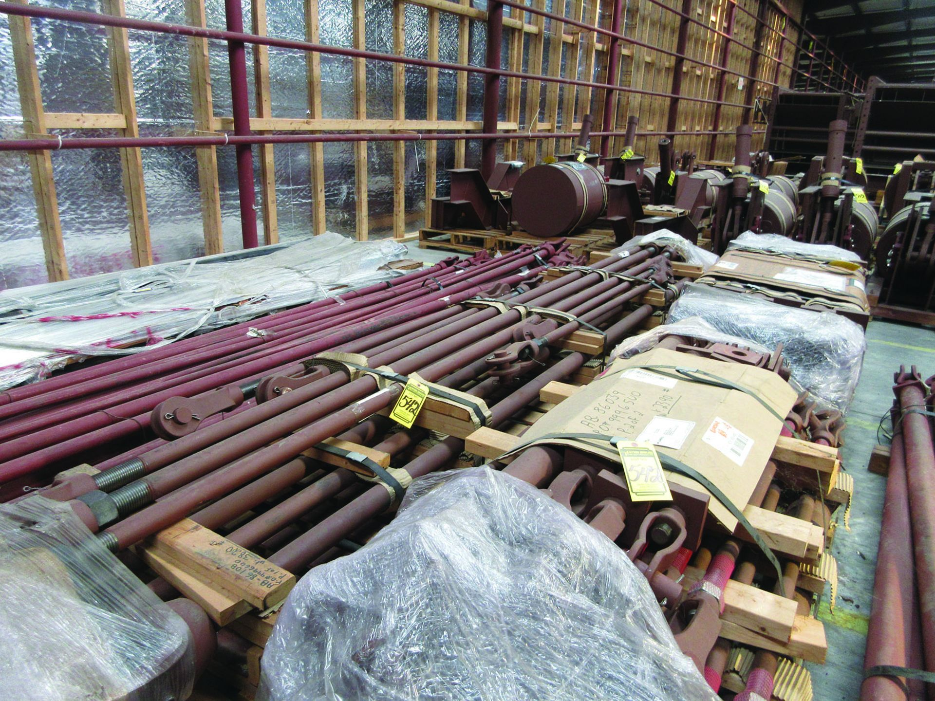 ASSORTED SPRING CANS, SUPPORT RODS, SPRING CANS 2,100-2,800 LB., GRID H8 - Image 7 of 11