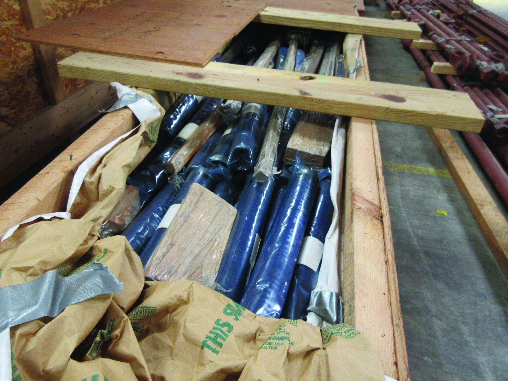 STRUCTURAL STEEL: RODS, PIPE, BRACKETS, FLANGES, GRID D7 - Image 8 of 14