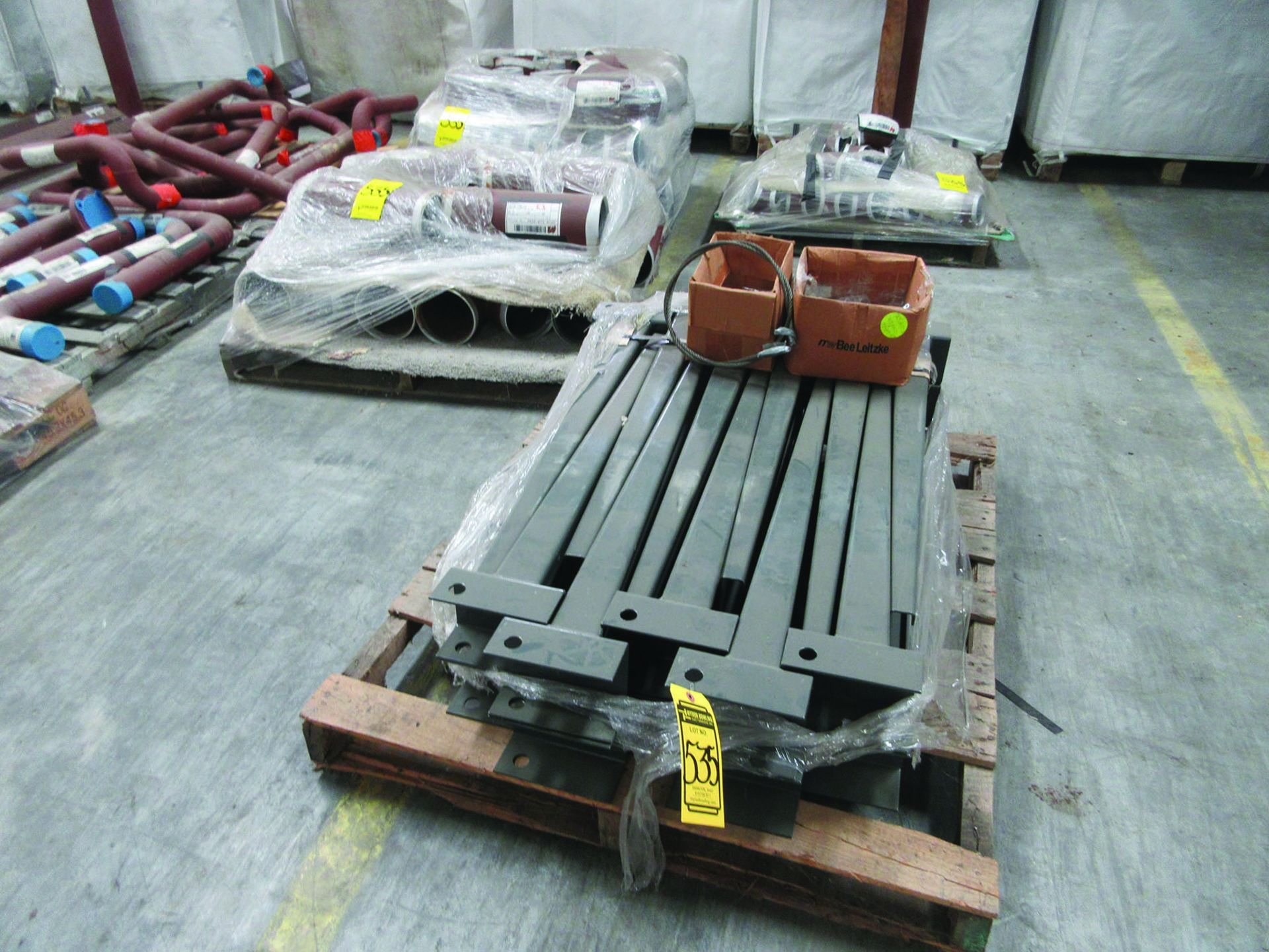 CANTILEVER RACK W/CONTENT: 120'' X 48'' X 202'', BUNDLES OF PIPE; 3/4'', 1'', 1 1/2'', 2'', MOST - Image 9 of 17