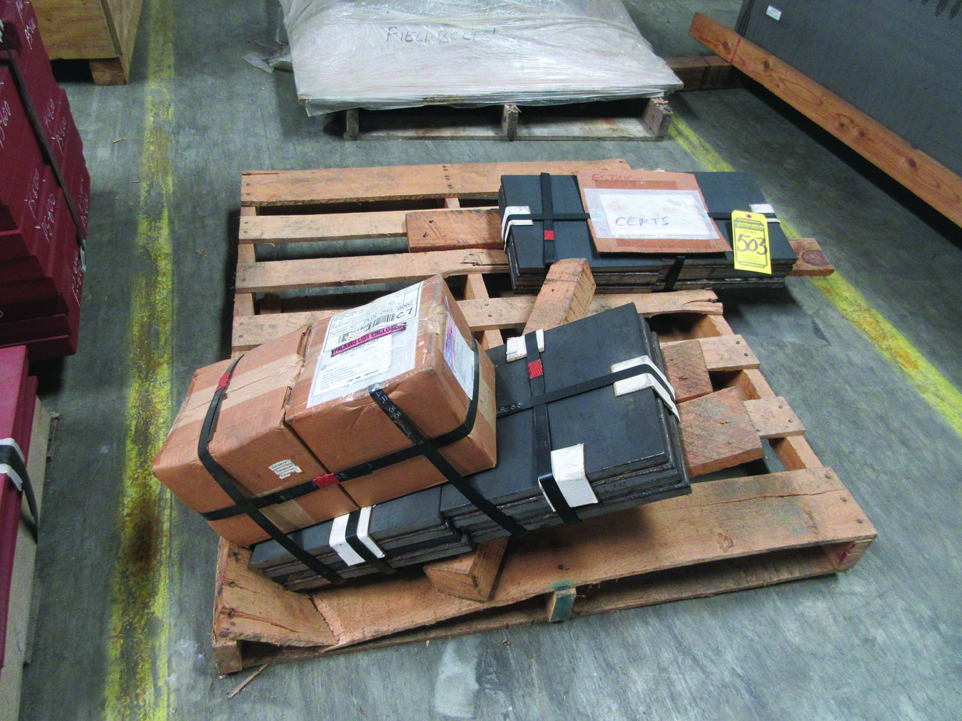 LARGE LOT OF STRUCTURAL STEEL: BRACING, RODS, BRACKETS, GRID C7 - Image 16 of 19