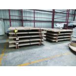 (18) PLATES 95'' X 69'' X 2 3/8'', 4,400 LB. EACH, (2) SUPPORT PARTS FOR DRIVE ASSEMBLY, 8,950 LB.