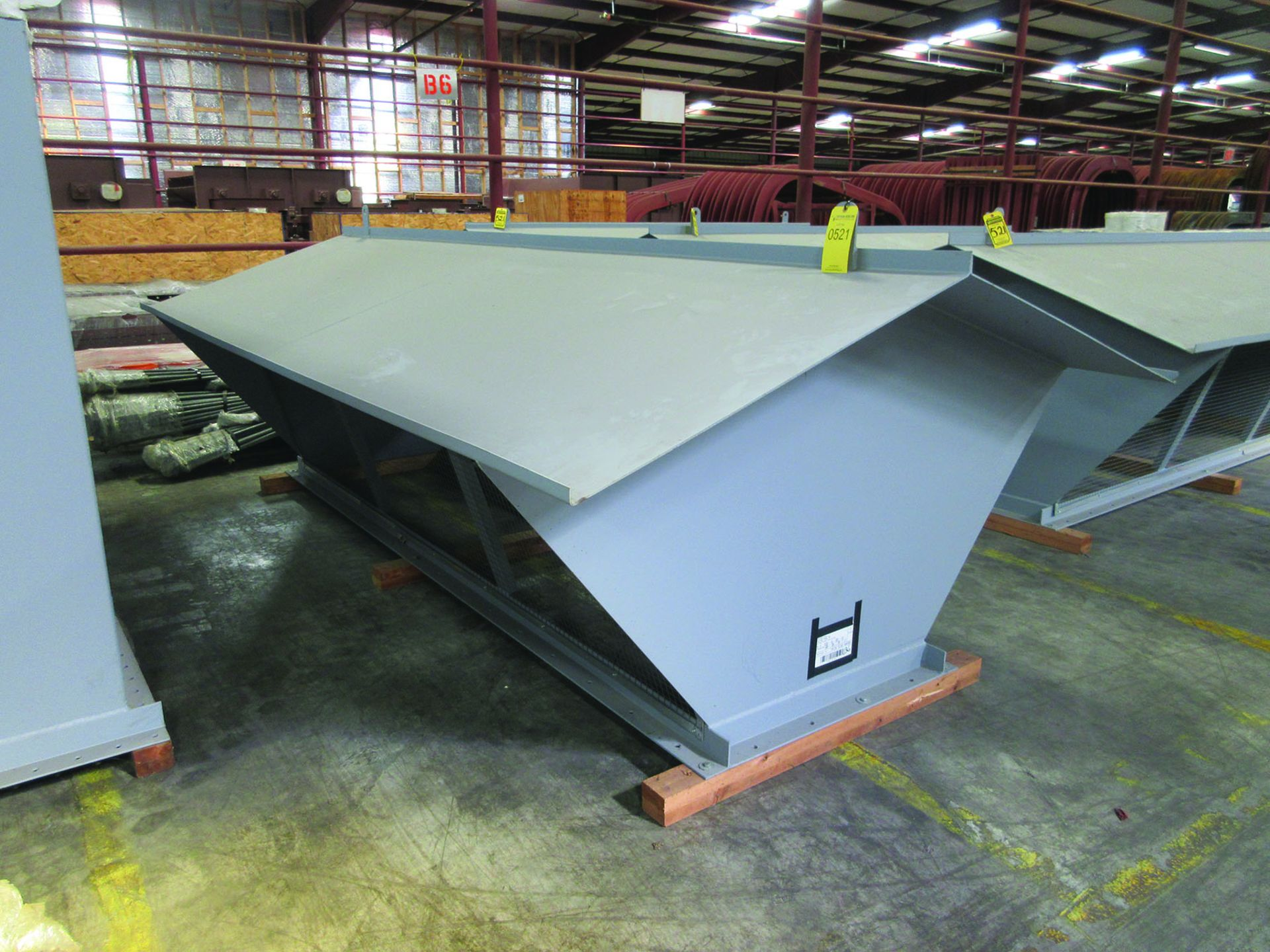 (4) FANS, MODEL 33VR1B-54, WEIGHTS: 4,122 LB. EACH, DIMENSIONS: 132'' X 45'' X 79'', ALSO RODS, - Image 2 of 10
