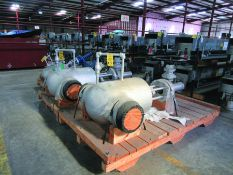 (3) WEIR GATE VALVES; (2) 12'', (1) 8'', SERVICE: CL2500 B16.34, 6,250 PSIG @ 100 ° F, STEM: CR13,