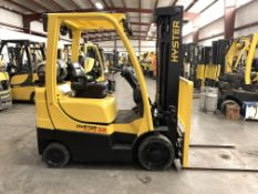 2015 HYSTER 5,000-LB., MODEL: S50FT, S/N: H187V01724N, LPG, LEVER SHIFT TRANSMISSION, SOLID TIRES,