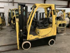 2012 HYSTER 3,000-LB., MOD: S30FT, LPG, SOLID NON-MARKING TIRES, 3-STAGE MAST, 187'' LIFT, SIDESHIFT