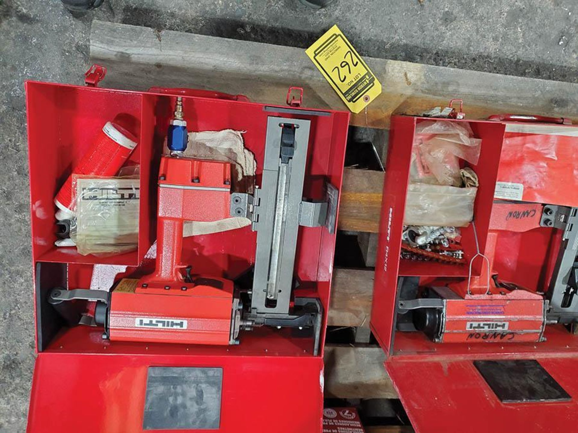 LOT ON PALLET, (2) HILTI R4X12 PNEUMATIC CONCRETE STEEL NAILERS - Image 2 of 6