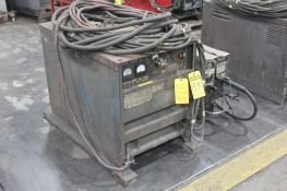 LINCOLN ELECTRIC IDEAARC DC-600 SN.AC649585 230-460V WITH LN-8 WIRE FEED SN.116314 115V