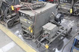 LINCOLN ELECTRIC IDEALARC DC-600 WELDER SN.AC684486 230-460V WITH LN-7 WIRE FEED SN.98949 115V