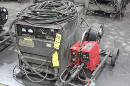 LINCOLN ELECTRIC IDEALARC DC-600 WELDER SN.AC681464 230-460V WITH LN-8 WIRE FEED 115V
