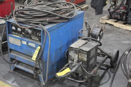 LINCOLN ELECTRIC IDEALARC DC-600 WELDER SN.AC658235 230-460V WITH LN-8 WIRE FEED SN.57089 115V