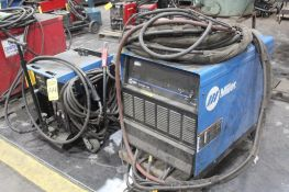 MILLER STEEL RUNNER 650 STRUCTUAL WELDING AND GOUGING SYSTEM SN.LJ460305V 24V WITH STEELRUNNER 650