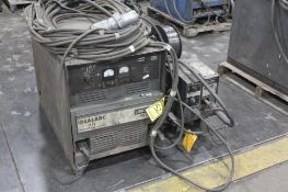 LINCOLN ELECTRIC IDEALARC DC-600 WELDER SN.AC292177 230-460V WITH LN-8 WIRE FEED SN.184815 115V