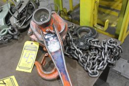 JET MINI MITE 3 TON CHAIN HOIST; MO. 2434