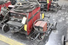 LINCOLN ELECTRIC IDEALARC DC-600 WELDER WELDER SN.U1091104153 230-460V WITH LN-7 WIRE FEED SN.