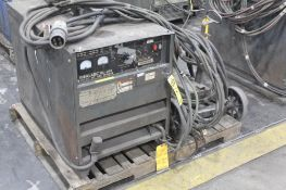LINCOLN ELECTRIC IDEALARC DC-600 WELDER SN.AC684486 230-460V WITH LN-7 WIRE FEED SN.U1961014665