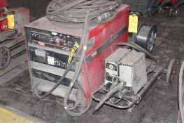 LINCOLN ELECTRIC IDEALARC DC-600 WELDER SN.U1090204071 230-460V WITH LN-8 WIRE FEED 115V
