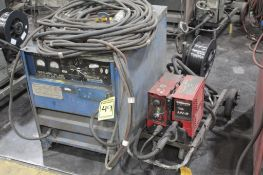 LINCOLN ELECTRIC IDEALARC DC-600 WELDER SN.AC684483 230-460V WITH LN-8 WIRE FEED SN.U1110613415