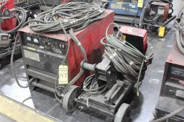 LINCOLN ELECTRIC IDEALARC DC-600 WELDER SN.AC819956 230-460V WITH LN-10 WIRE FEED 115V