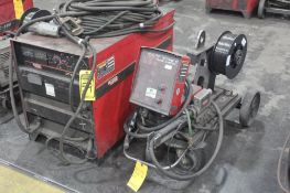 LINCOLN ELECTRIC IDEALARC DC-600 WELDER SN.U10901965 230-460V WITH LN-10 WIRE FEED U1001011273 115V