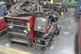 LINCOLN ELECTRIC IDEALARC DC-600 WELDER SN.U1090101979 230-460V WITH LN-10 WIRE FEED 115V