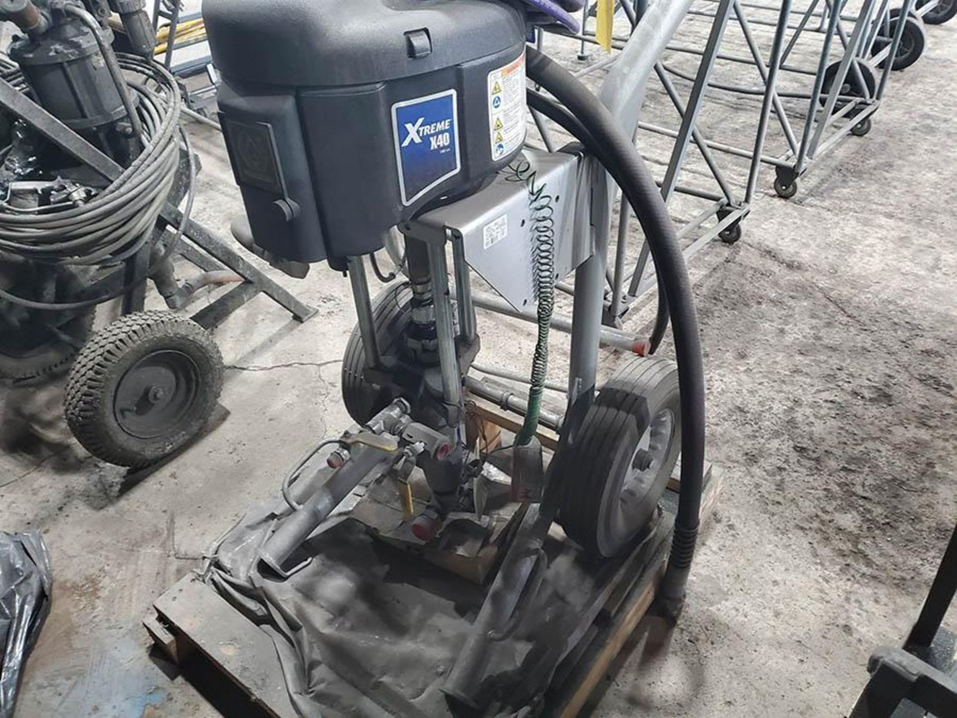 GRACO XTREME X40 SPRAYER, PART NO. 287974, S/N A9544, SERIES C16C 100PSI MAX - Image 2 of 7