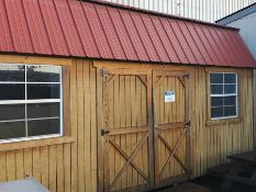 10 X 20 SHED