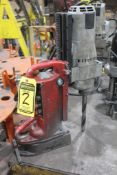 MILWAUKEE MAGNETIC DRILL PRESS SN.838B606200069; MO.4208-A