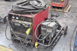 LINCOLN ELECTRIC IDEALARC DC-600 WELDER SN.U1940711810 230-460V WITH LN-8 WIRE FEED SN.134263 115V