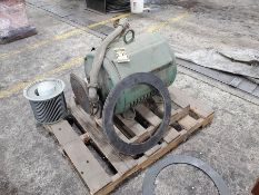 LOT ON PALLET, 100 HP ELECTRIC MOTOR