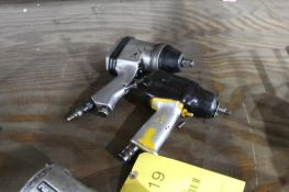 LOT: (2) PNEUMATIC IMPACT WRENCHES - (1) 1/2 IN., (1) UNKNOWN