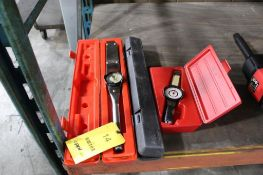 LOT: (3) TORQUE WRENCHES