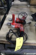 LOT: (2) MILWAUKEE 1/2 IN. HOLE SHOOTER DRILLS